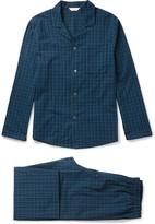 Derek Rose Braemar Checked Cotton Pyjama Set