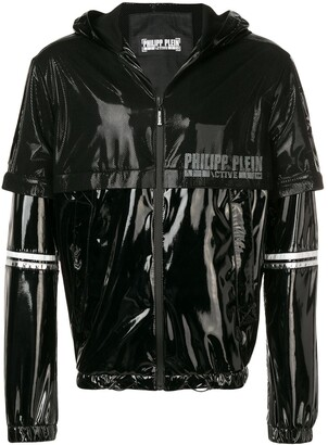 Philipp Plein Mesh Panel Sports Jacket