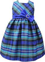 Jayne Copeland Blue Plaid Dress - Toddler & Girls