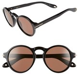 Givenchy Women's 51Mm Round Sunglasses - Black
