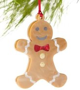 Edie Parker Gingerbread Man Christmas Ornament