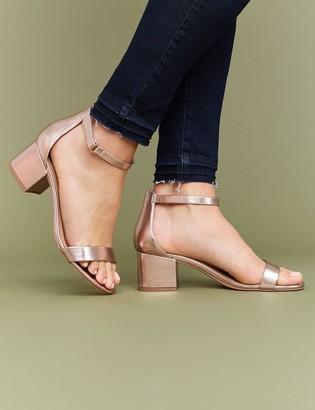 Lane Bryant Low Block Heel Sandal