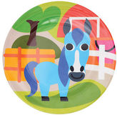 French Bull NEW Farm Series Plate Horse