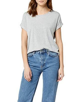 Melange Home ONLY NOS Women's onlMOSTER S/S TOP NOOS JRS T-Shirt, (Light Grey , 10 (Size: S)
