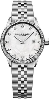 Raymond Weil Freelancer Ladies Stainless Steel Bracelet Watch