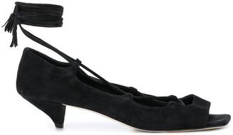 KHAITE Geneva lace-up sandals