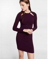 Express knit cut-out dress