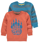 George 2 Pack Assorted Sweatshirts