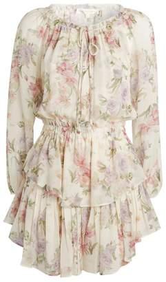 LoveShackFancy Floral Ruffle Dress