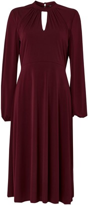 Wallis **TALL Berry Keyhole Jersey Dress