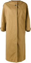 Jil Sander collarless coat - women - Cotton - 36