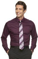 Van Heusen Men's Regular-Fit Lux Sateen Dress Shirt