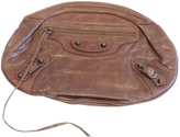 Balenciaga Brown Leather Clutch bag