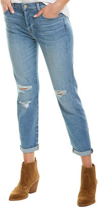 7 For All Mankind Seven 7 Josefina Pale Sky 2 High-Rise Skinny Boyfriend Cut