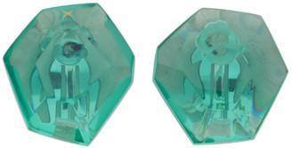 Monies Jewellery Green Hailey Earrings