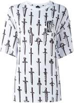 Kokon To Zai sword print T-shirt