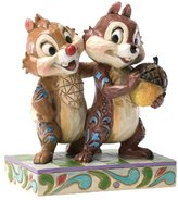 Disney Traditions Nutty Buddies Chip/Dale Figurine