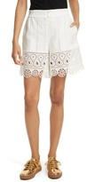 Opening Ceremony Women's Broderie Anglaise Shorts