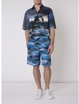 Givenchy 'Blue Hawaii' swim shorts