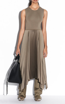 Joseph Dera Woven Knit Plisse Dress