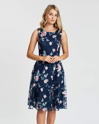 Review Blue Jasmin Dress