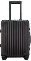 Rimowa Topas Stealth 22-Inch Cabin Multiwheel Aluminum Carry-On - Black