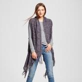 Sylvia Alexander Women's Knit Sweater Vest with Fringe