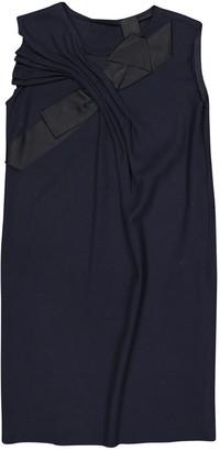 Lanvin Navy Wool Dresses