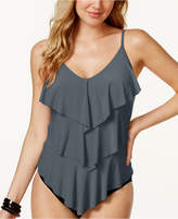 Magicsuit Rita Tiered-Ruffle Tankini Top