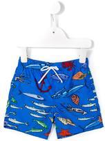 Dolce & Gabbana ocean life print swim shorts