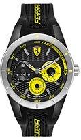 Ferrari 830257 'RED REV T MULTI' Quartz Resin and Silicone Watch