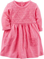 Carter's Long Sleeve Dress Set - Baby Girls