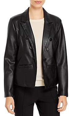 T Tahari Faux Leather Jacket