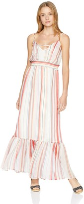Jack by BB Dakota Junior's Luciana Umbrella Stripe Printed Maxi Dress