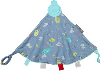 Kalencom Cheeky Chompers Teddy 2-in-1 Teether and Sensory Blanket