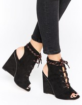 Asos EAGAN Lace Up Wedges