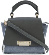 Zac Posen raw edge mini tote bag