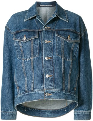 Alexander Wang Buttoned Denim Jacket