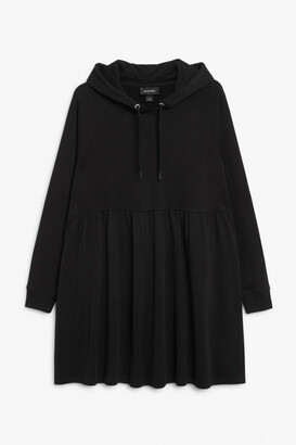 Monki Hoodie dress