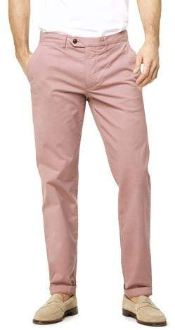 Todd Snyder Extra Slim Fit Tab Front Stretch Chino in Rose