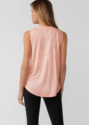 Lorna Jane Never Look Back Muscle Tank