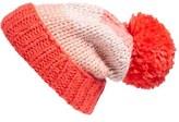 Kate Spade Women's Hand Knit Colorblock Beanie - Blue