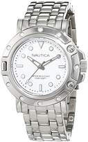Nautica Women's 'NST 800' Quartz Stainless Steel Casual Watch, Color:Silver-Toned (Model: NAD15524L)