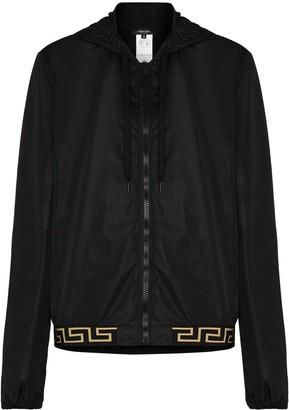 Versace Greca detail lightweight jacket