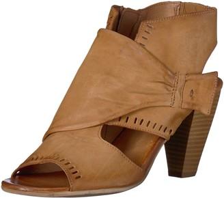 Miz Mooz Women's Moonlight Heeled Sandal Wheat 41 M EU (9.5-10 US)
