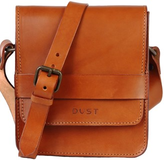 The Dust Company Mod 114 Small Messenger in Cuoio Brown