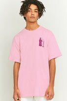 Obey Creepin' Death Pink T-shirt