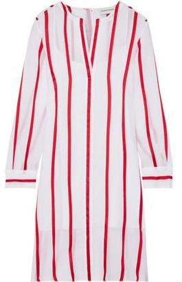 Mansur Gavriel Striped Voile Shirt Dress