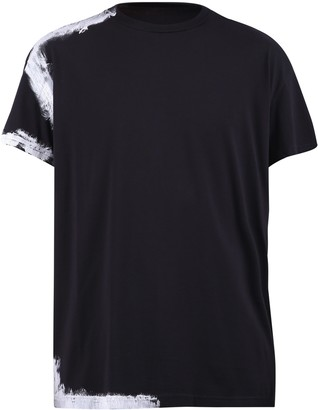 Maison Margiela Paint Effect Print T-Shirt