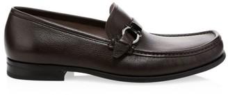 Salvatore Ferragamo Adam Leather Loafers